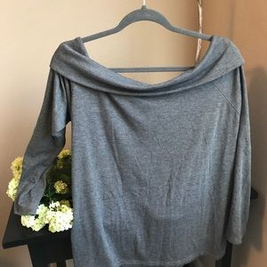 Gap slouchy off shoulder sweater